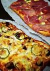 自家製酵母×コストコPMのピザ生地