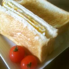朝食*明太子チーズトーストサンド*簡単!