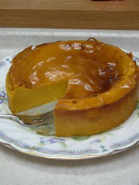 ●低カロ●かぼちゃのチーズケーキ