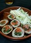 焼き肉のたれで簡単!野菜たっぷり豚肉巻き