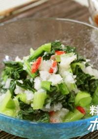 パパッとおかず⑲ 小松菜のおろし和え