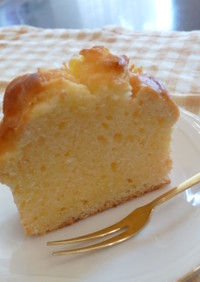 バター不要泡立て無し!簡単パウンドケーキ