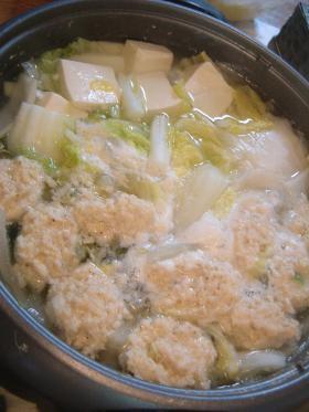 ふんわり鶏団子鍋