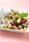 白和えのオリーブ油ドレッシングサラダ