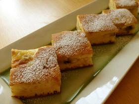 卵焼きのフライパンでバナナケーキ