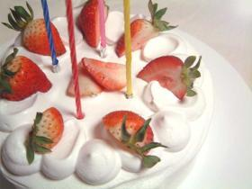 *HAPPYケーキ*