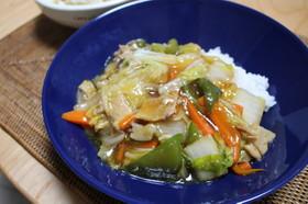 簡単♪お野菜たっぷり中華丼