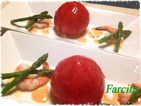おもてなし!トマトのファルシーナパージュ