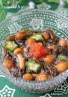 なめこともずくの麺つゆ和え~柚子胡椒風味