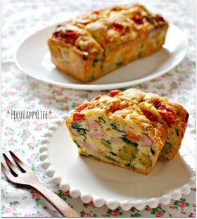 ☆HMで簡単たっぷり野菜のケーク・サレ☆