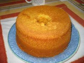 カボチャシフォンケーキ