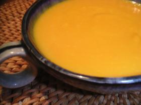 暖色系野菜たっぷり♪かぼちゃスープ