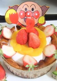 ヨーグルトとHMでケーキのアレンジ☆