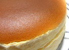 手軽に簡単。ある材料でスフレチーズケーキ
