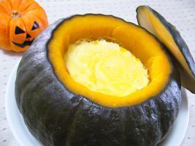 かぼちゃ丸ごと☆かぼちゃ&プリン