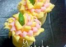 お弁当に☆薄焼き卵とハムのお花❀
