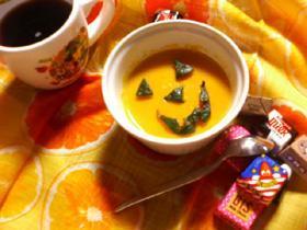 ハロウィン*かぼちゃプリン