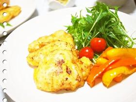 鶏むね肉の塩麹ピカタ