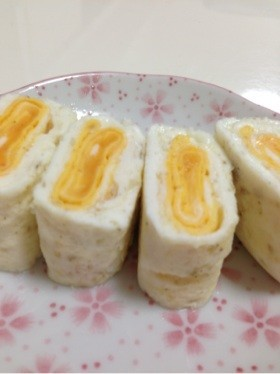 目玉焼きみたいな卵焼き?是非、お弁当に!