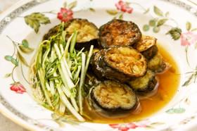 めんつゆde茄子と水菜のトロッと煮