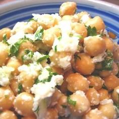ひよこ豆のサラダ ガーリック風味