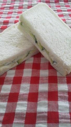 きゅうりのサンドイッチ 思い出の味
