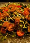 簡単!鰻とカイワレのサラダ
