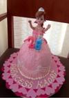 お誕生日に!プリンセスバースデーケーキ