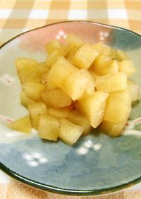 ★レンジでシナモンりんごを作りま~す。♪