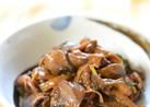 ご飯が進む♫鶏レバーとキノコのコク旨煮
