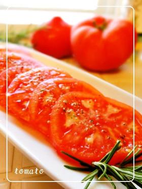 私の大好きなトマトの食べ方♡
