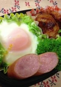 お弁当に巣ごもり卵。レンジでチン♪