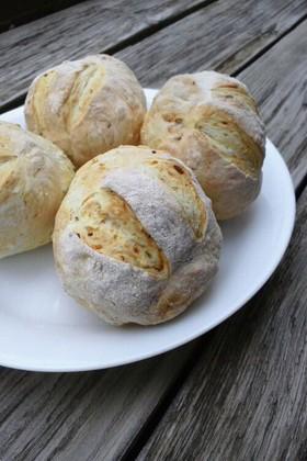 簡単♪発酵なし♡パン♡卵*乳製品なし!