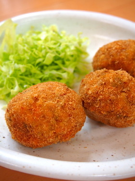 お弁当◎キャベツ☆豚挽肉☆簡単メンチカツ