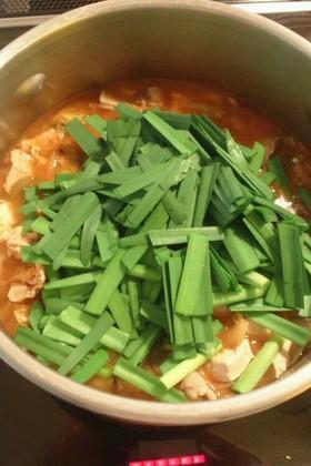 ダイエットキムチ納豆鍋(冷蔵庫整理にも)