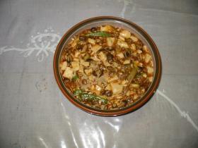 アツアツ麻婆豆腐