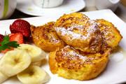 簡単♪フレンチトースト☆フランスパンで☆の写真