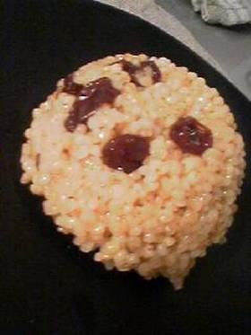 マクロビオティック★もちきびの林檎ジュース煮