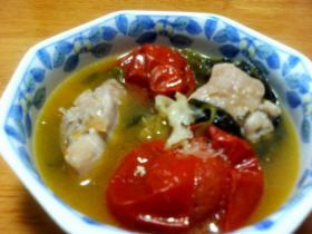 鶏トマトスープ
