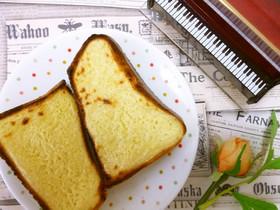 チーズケーキに憧れたトースト