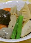 がんもどきと野菜の煮物