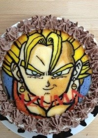 感動!!印刷したみたいなキャラケーキ☆