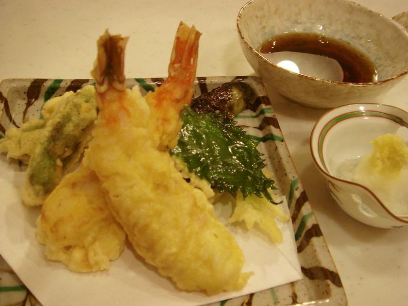 海老の下ごしらえ / 天ぷら