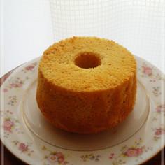 簡単♪ふわふわ✿きな粉シフォンケーキ
