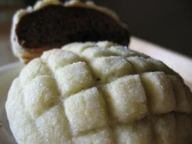 板チョコ包みのチョコメロンパン