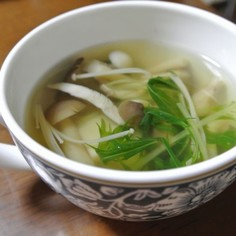 きのこたっぷりスープ☆