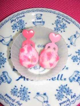 お弁当に♥ピンクの甘いたまご