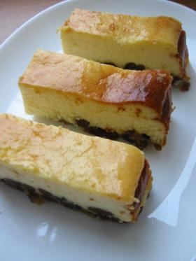 甘納豆★チーズケーキ