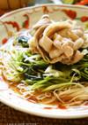 手作りめんつゆ★中華風しゃぶしゃぶ素麺