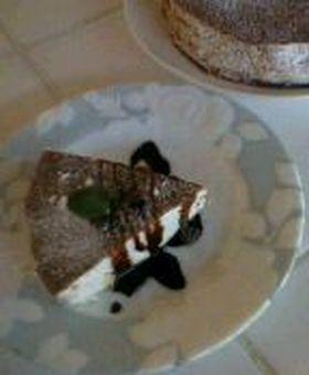 バナナふわふわムースケーキ